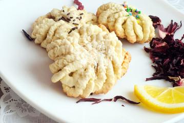 cookies, lemon, Hibiscus Tea3