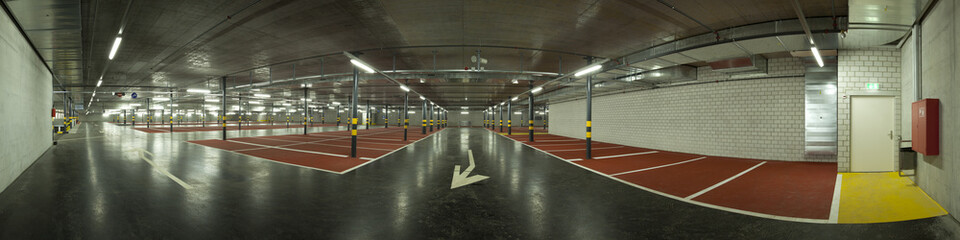 parking underground empty