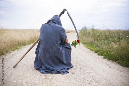 Śmierć z różą