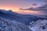 Fototapeta tatry - niebo - Góry