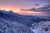 Fototapete Himmel - Landschaft - Mittelgebirge