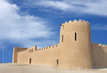 Eastern tower and SE wall of Riffa Fort, Bahrain