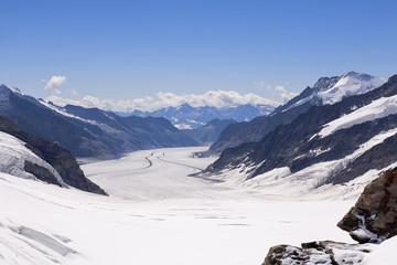 Швейцария, Альпы, Ледник