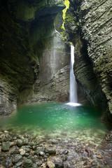 Cascata Tolmin