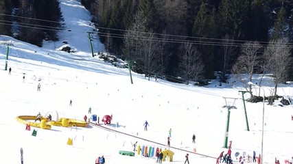 Skiing Resort in Formazza, Italy