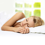 Fototapety sleeping beauty woman