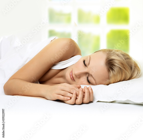 sleeping beauty woman