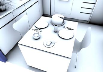 Cocina Detalle mesa