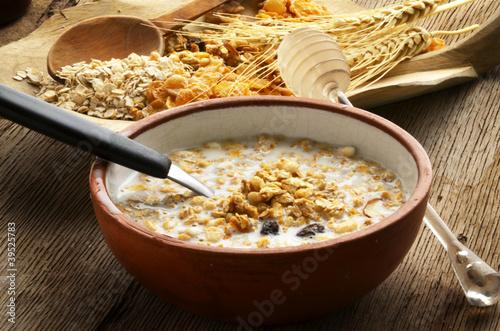Leinwandbild Motiv Breakfast 早餐 Colazione Desayuno Café da manhã
