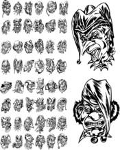 Klauny i Kolekcja Jokers