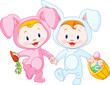 Easter Babies-bunnies