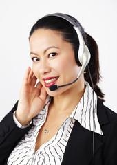 Geschäftsfrau, Business, Operator 3