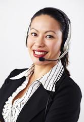 Geschäftsfrau, Business, Operator 4
