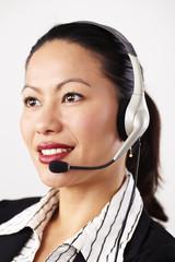 Geschäftsfrau, Business, Operator 5