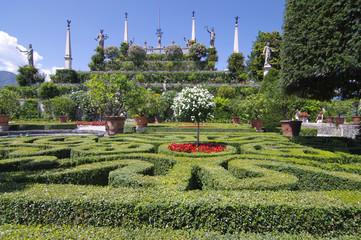 Gartenparadies Insel Isola Bella - Lago Maggiore