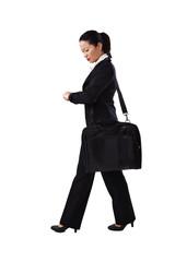 Geschäftsfrau, Business, unterwegs 1