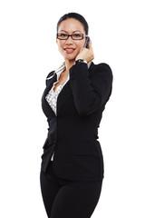 Geschäftsfrau, Business, telefonieren 2
