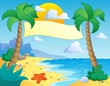 Beach theme scenery 4