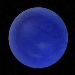 3d render of neptune planet