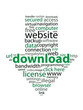DOWNLOAD tag cloud (internet web button free piracy)
