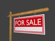 Hinweistafel - for sale