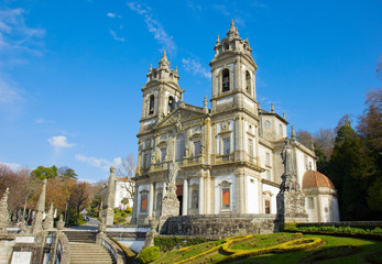 basilica Shrine of Good Jesus of the Mountain