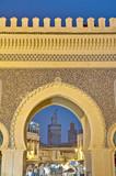 Bab Bou Jeloud gate at Fez, Morocco poster