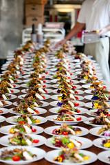Wedding preperation and food