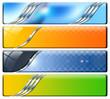 Four Horizontal Headers