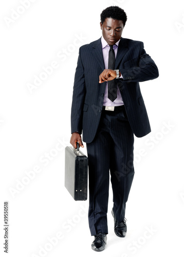 time concious businessman