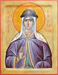 Icon of saint Sophia of Slutsk