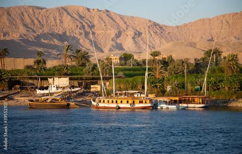 Plexiglas Egypte Croisière sur le Nil