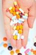 pills on palm