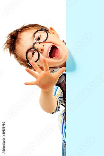 Leinwanddruck Bild study boy