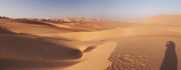 Abu Dhabi's desert dunes