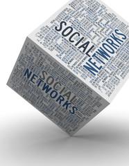 Social Networks cube / Soziale Netzwerke Würfel