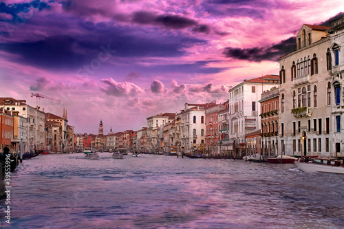Sunset at Venice in vanilla sky - 39555996