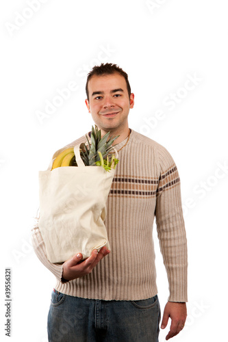 Male Grocery Shopper
