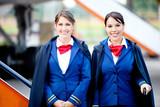 Beautiful flight attendants