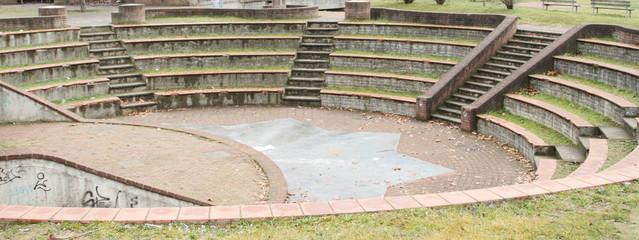 Anfiteatro in un parco