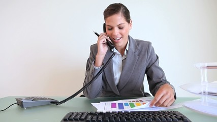 Executive calling while working