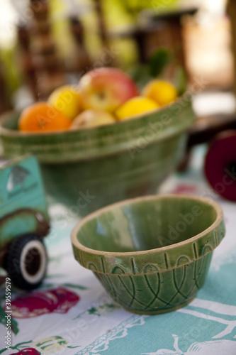 Vintage ceramic mixing bowls