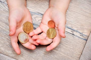 Geld in Kinderhände