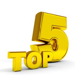 Gold TOP five.