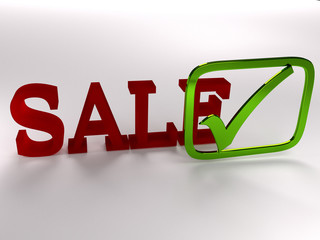 Sale Verkaufen