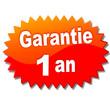 garantie 1 an sur vignette rouge