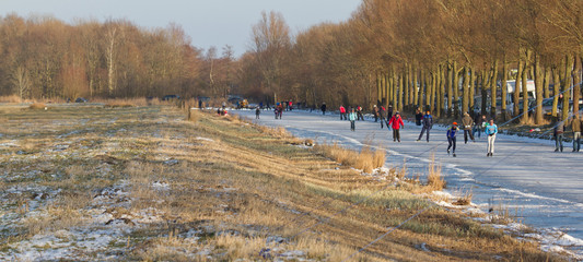 Iceskating the Elfstedentocht