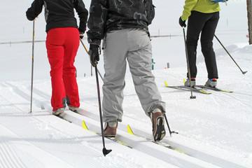 Skilangläuferinnen