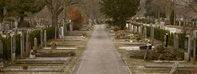 An new graveyard