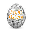 Osterei, Frohe Ostern, TagCloud, Webdesign, SEO, SEM, Ei, Web